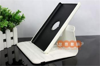 Rotation Stand Leather Case Cover  Kindle Fire 2011 White + SP1