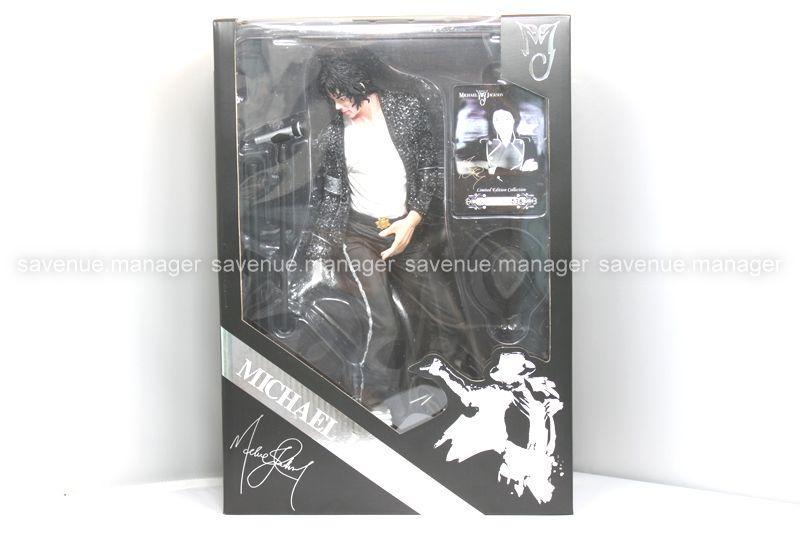 Michael Jackson MJ Billie Jean Doll This is it Figure