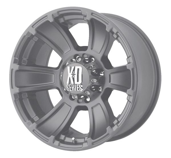 XD REVOLVER 17 X 9 BRONZE CHEVY FORD DODGE wheels