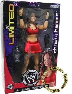 WWE Exclusive Action Figure Christy Hemme TNA