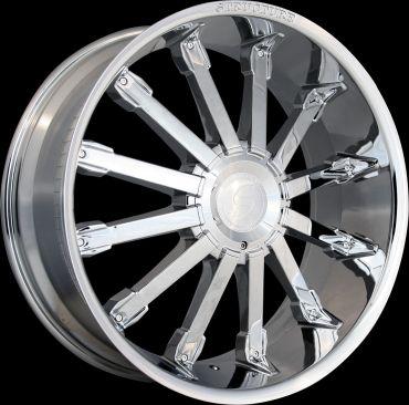 22 Inch Land Range Rover HSE Chrome Wheels Rims 5x120